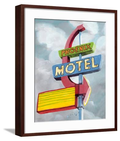 American Roadside II-Naomi McCavitt-Framed Art Print