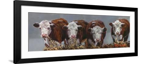 The Diner's Club-Carolyne Hawley-Framed Art Print