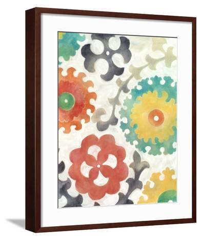 Batik Suzani II-Chariklia Zarris-Framed Art Print