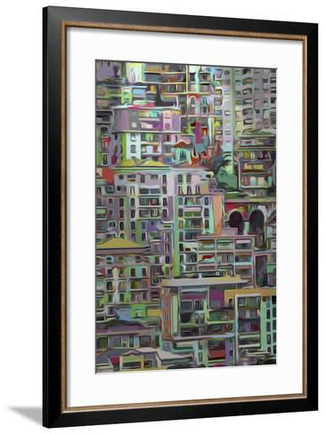 Stack I-James Burghardt-Framed Art Print