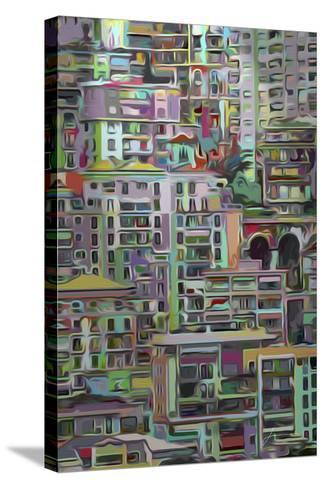 Stack I-James Burghardt-Stretched Canvas Print