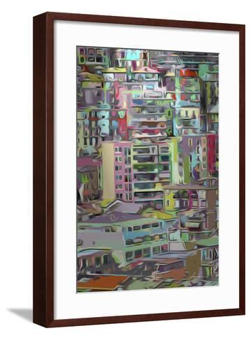 Stack III-James Burghardt-Framed Art Print