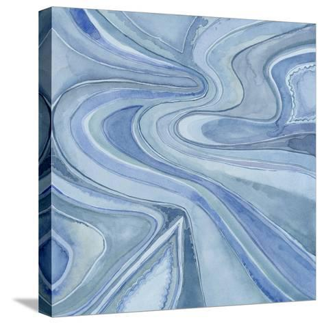 Pastel Agate I-Megan Meagher-Stretched Canvas Print
