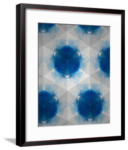 Sapphire Frost VI-Renee W^ Stramel-Framed Art Print