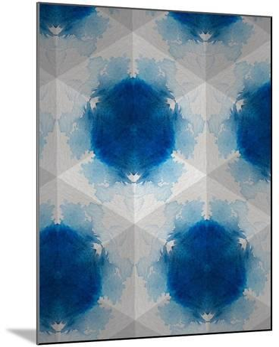 Sapphire Frost VI-Renee W^ Stramel-Mounted Art Print