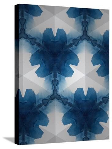 Sapphire Frost II-Renee W^ Stramel-Stretched Canvas Print