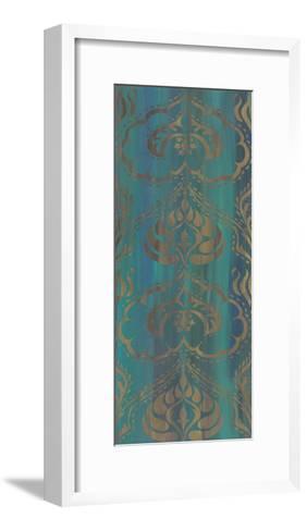 Blue Arabesque II-Chariklia Zarris-Framed Art Print