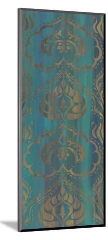 Blue Arabesque II-Chariklia Zarris-Mounted Art Print