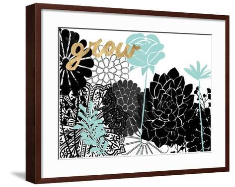 Lacy Garden I-Studio W-Framed Art Print