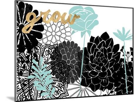 Lacy Garden I-Studio W-Mounted Art Print
