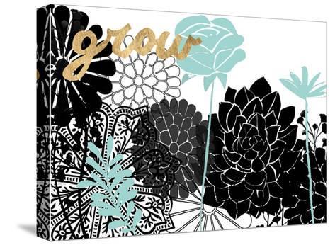 Lacy Garden I-Studio W-Stretched Canvas Print