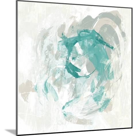 Teal Fog I-June Erica Vess-Mounted Art Print