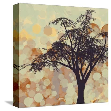 Sunshine Garden V-Irena Orlov-Stretched Canvas Print
