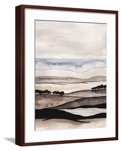 Watercolor Strata I-Grace Popp-Framed Art Print