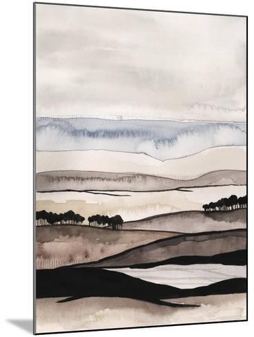 Watercolor Strata I-Grace Popp-Mounted Art Print