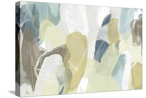 Mint Illusion I-June Erica Vess-Stretched Canvas Print