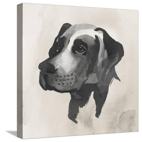 Inked Dogs I-Grace Popp-Stretched Canvas Print
