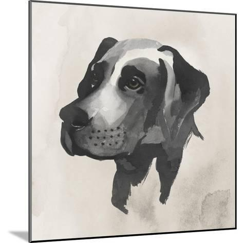 Inked Dogs I-Grace Popp-Mounted Art Print