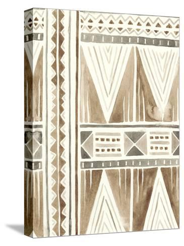 Tribal Impressions I-June Erica Vess-Stretched Canvas Print