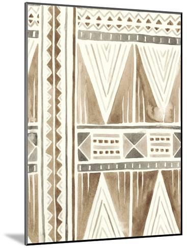 Tribal Impressions I-June Erica Vess-Mounted Art Print