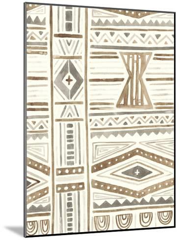 Tribal Impressions III-June Erica Vess-Mounted Art Print