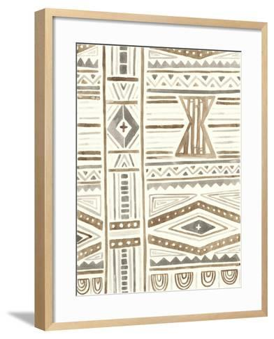 Tribal Impressions III-June Erica Vess-Framed Art Print