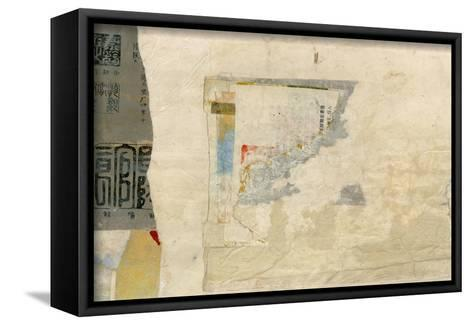Modern Collage III-Elena Ray-Framed Canvas Print