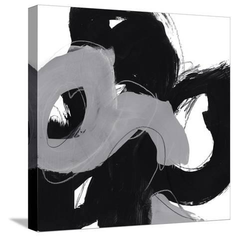 Monochrome VI-June Erica Vess-Stretched Canvas Print