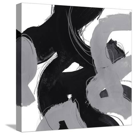 Monochrome VIII-June Erica Vess-Stretched Canvas Print