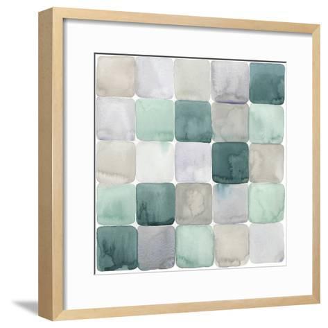 Watercolor Window Panes II-Grace Popp-Framed Art Print