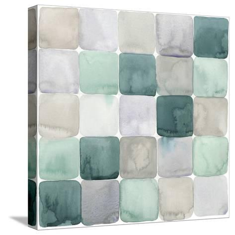 Watercolor Window Panes II-Grace Popp-Stretched Canvas Print