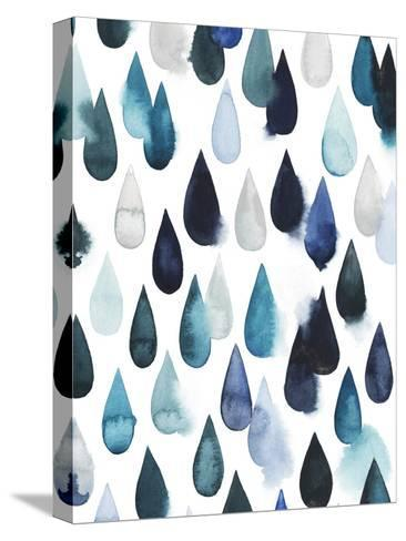Water Drops II-Grace Popp-Stretched Canvas Print