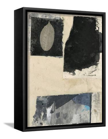 Modern Leaf I-Elena Ray-Framed Canvas Print