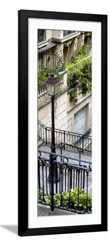 Paris Focus - Stairs of Montmartre-Philippe Hugonnard-Framed Art Print