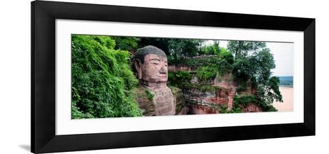 China 10MKm2 Collection - Giant Buddha of Leshan-Philippe Hugonnard-Framed Art Print