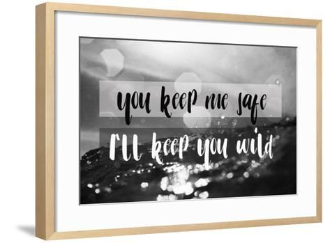 I'll Keep You Wild-Lila Fe-Framed Art Print