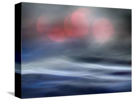 Foggy Nights, Many Moons-Ursula Abresch-Stretched Canvas Print