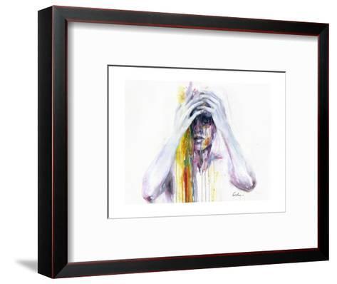 Wash Away-Agnes Cecile-Framed Art Print