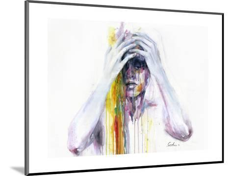 Wash Away-Agnes Cecile-Mounted Art Print