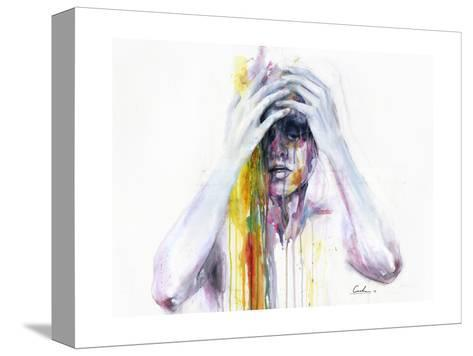 Wash Away-Agnes Cecile-Stretched Canvas Print