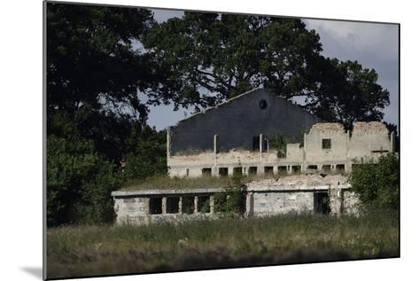 Abandoned Farm Building, Stepnica, Poland, July 2014-Zankl-Mounted Photographic Print