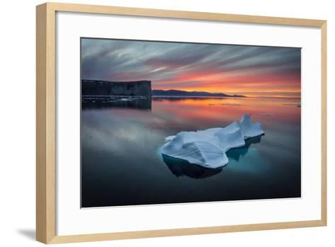 Sunset Off of Scott Island-Brent Stephenson-Framed Art Print