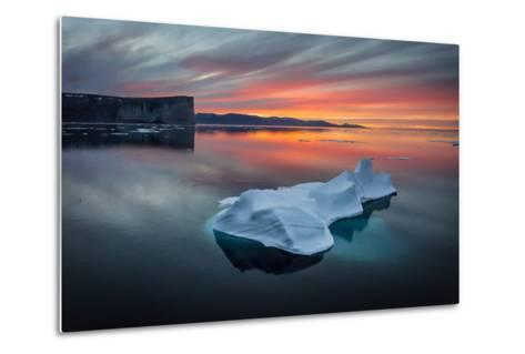 Sunset Off of Scott Island-Brent Stephenson-Metal Print