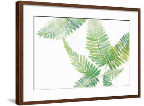 Ferns I Square-Chris Paschke-Framed Art Print