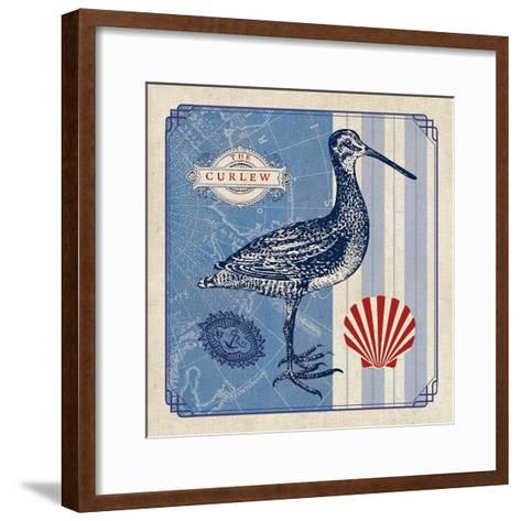 Sea Bird III- Studio Mousseau-Framed Art Print