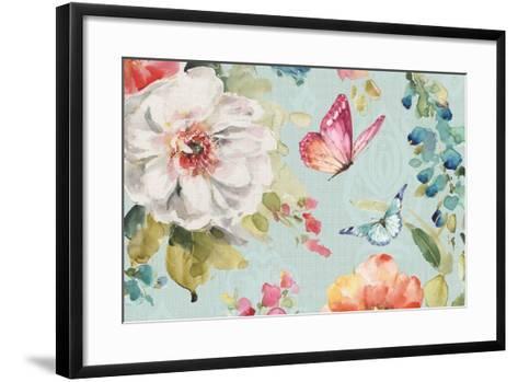 Colorful Breeze VI-Lisa Audit-Framed Art Print