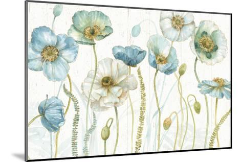 My Greenhouse Flowers I on Wood-Lisa Audit-Mounted Art Print
