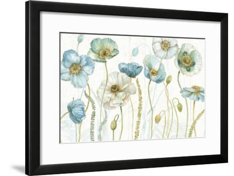 My Greenhouse Flowers I on Wood-Lisa Audit-Framed Art Print