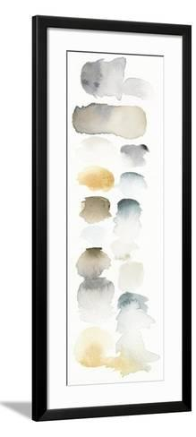 Watercolor Swatch Panel Neutral I-Elyse DeNeige-Framed Art Print