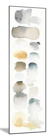 Watercolor Swatch Panel Neutral I-Elyse DeNeige-Mounted Premium Giclee Print